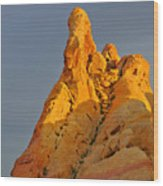 Vibrant Valley Of Fire Wood Print