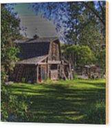 Vic's Barn II Wood Print