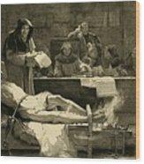 Victim Of The Spanish Inquisition Wood Print