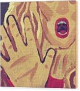 Victim Wood Print