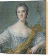 Victoire De France At Fontevrault Wood Print