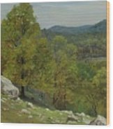Victor Coleman Anderson  1882  1937  Rocky Uplands 1921 Wood Print