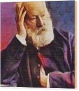 Victor Hugo, Literary Legend Wood Print