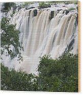 Victoria Falls Waterfall Framed Wood Print