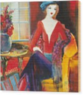 Victoria Marie Wood Print