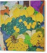 Victoria Market Wood Print