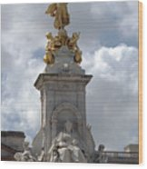 Victoria Memorial Wood Print