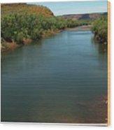 Victoria River Wood Print