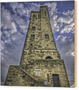 Victoria Tower Castle Hill Huddersfield 4 Wood Print