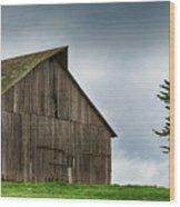 Victorian Barn  Wood Print
