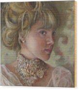 Victorian Beauty Wood Print
