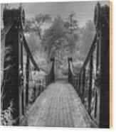 Victorian Bridge Wood Print