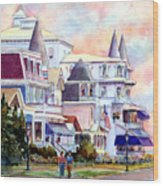 Victorian Cape May New Jersey Wood Print
