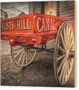 Victorian Cart Wood Print by Adrian Evans