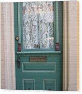 Victorian Door Wood Print