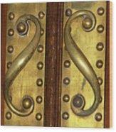 Victorian Door Pulls Wood Print