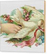 Victorian Dove Wood Print