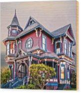 Gingerbread House Wood Print