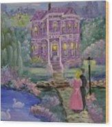 Victorian Romance 1 Wood Print
