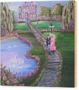 Victorian Romance 2 Wood Print