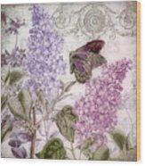 Victorian Romance II Wood Print