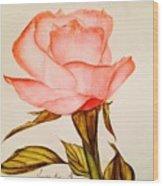 Victorian Rose  Wood Print
