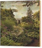 Victorian Spring Wood Print