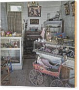 Victorian Toy Shop - Virginia City Montana Wood Print