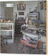 Victorian Toy Shop - Virginia City Montana Wood Print by Daniel Hagerman