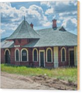 Midland Terminal Depot Wood Print