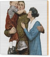 Victory Liberty Loan - World War One  Wood Print