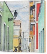 Viejo San Juan Wood Print
