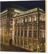 Vienna State Opera Wood Print