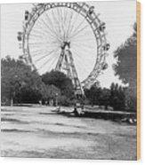 Viennese Giant Wheel Wood Print