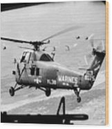 Vietnam War 1966 Wood Print