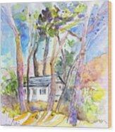 Vieux-boucau 01 Wood Print