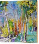 Vieux-boucau 05 Wood Print