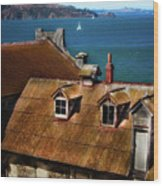 View From Alcatraz Wood Print