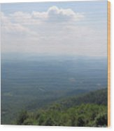View From Bald Knob 2 Wood Print