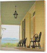 View From Cedar Grove Wood Print