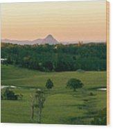 View From Dahmongah Lookout In Mount Mee Wood Print