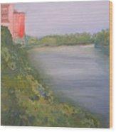 View From Edmund Pettus Bridge Wood Print