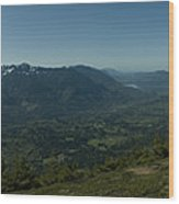 View From Elk Mountain Wood Print