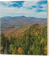 View From Goodnow Wood Print