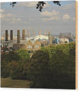 View From Greenwich Park Wood Print