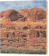 View From Highway 128, Utah Wood Print