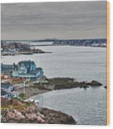 View From Marblehead Lighthouse Wood Print