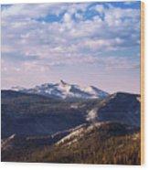 View From May Lake Wood Print