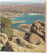 View From Mt Scott Wood Print