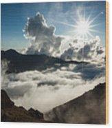 View From Ptarmigan Peak Wood Print